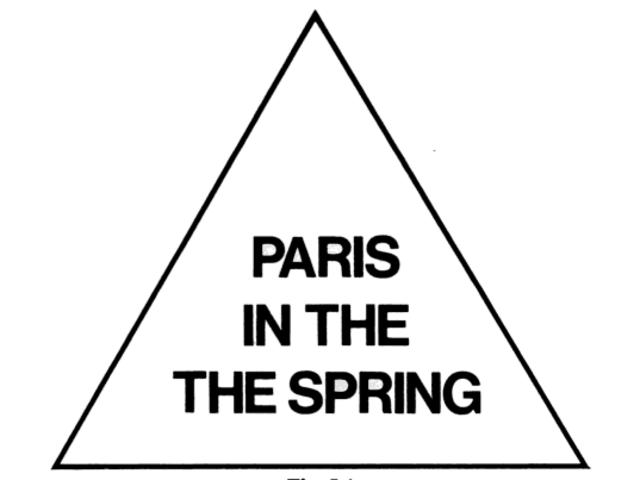 春天里的巴黎
